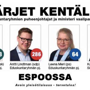 EHDOKASTAPAHTUMA: KÄRJET KENTÄLLÄ