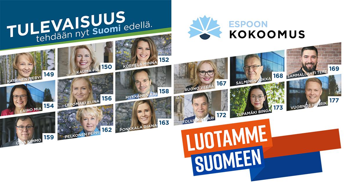 Eduskuntavaalit 2021 Ehdokkaat Kymenlaakso